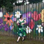 SAV fence mural, Marshall TX