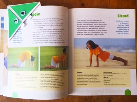 Kids Crafts: YogaKids, monster bookmark
