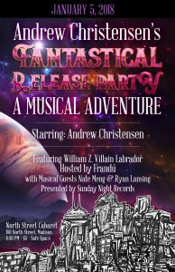 Andrew Christensen Album Release Party poster