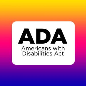 ADA logo - Americans with Disabilities
