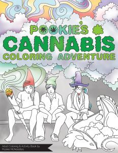 PCCA! The adult, cannabis themed coloring book!