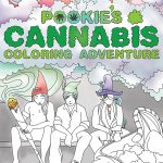 Pookie's Cannabis Coloring Adventure - cover
